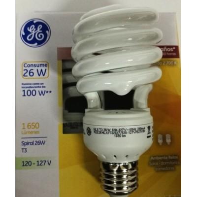 35707 Lámpara Fluorescente Compacta Spiral 26 W c/u