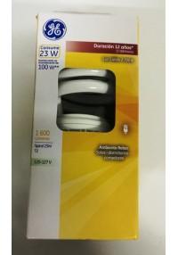 35722 Lámpara Fluorescente Compacta Spiral 23 W c/u