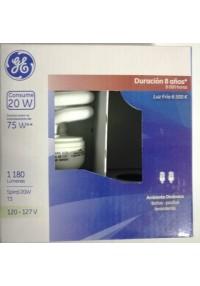 32473 Lámpara Fluorescente Compacta Spiral 20 W c/u